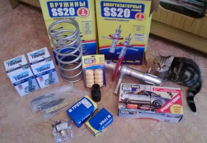 spare parts for priory