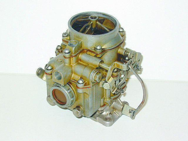 The device and adjustment of carburetor К126Г