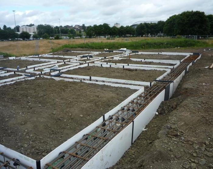 non-removable formwork made of expanded polystyrene