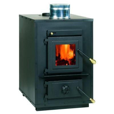 Solid fuel boilers of long burning scheme