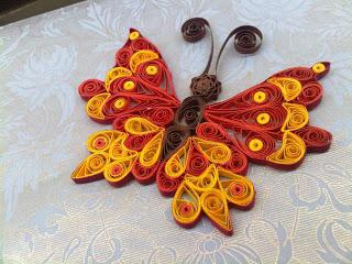 Quilling butterflies, or How to recreate the most wonderful creation of nature from paper