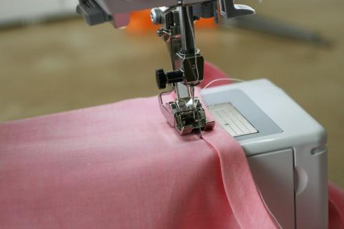 Tips for beginners - how to sew a slanting bake
