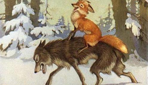 "Fairy tale ""The Fox and the Wolf"": fairy tale analysis"