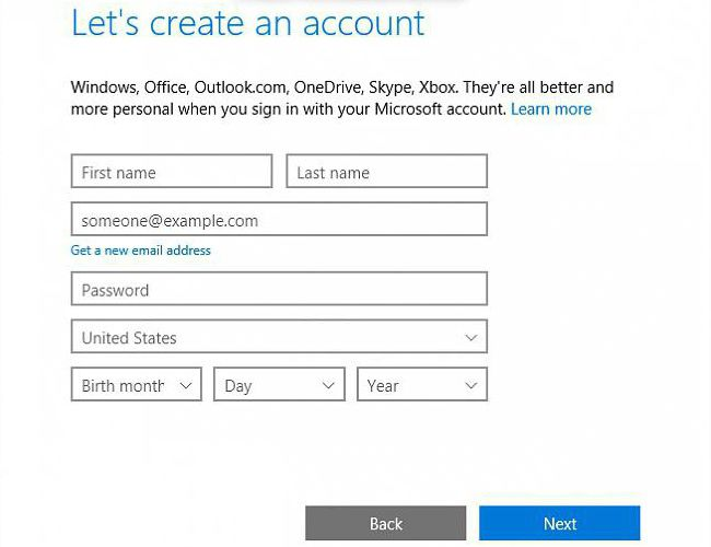 how to add a new user to windows 10