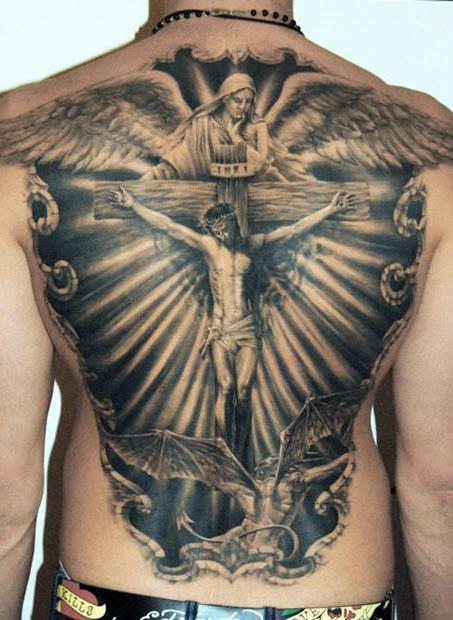 What is the meaning of religious tattoos?