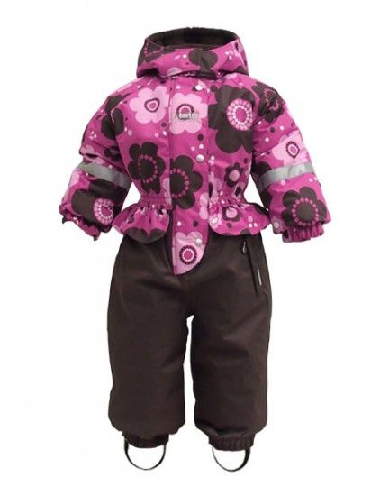 Winter overalls for girls - reliable protection even from severe frosts