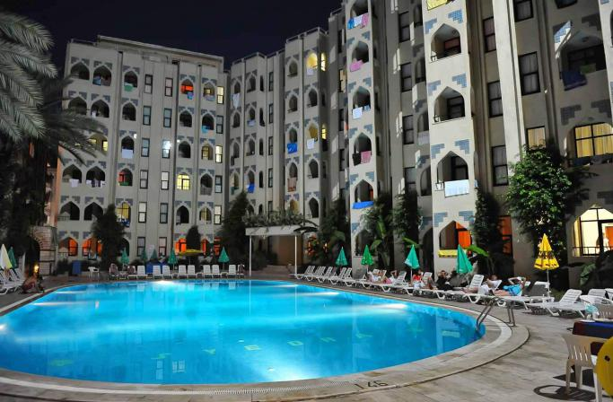A great rest for a little money in the hotel Life Syedra Princess Hotel 4 *