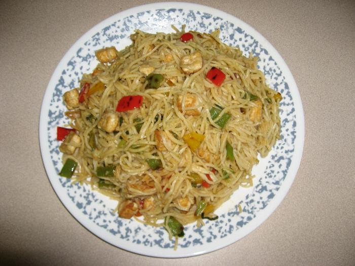 Chinese rice noodles calorie content